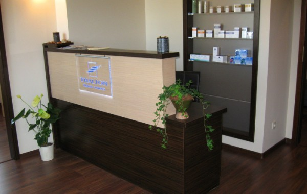 Counters and reception desks